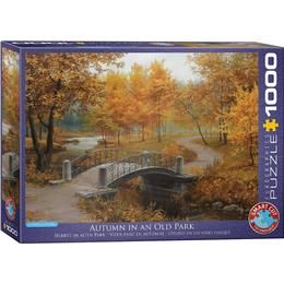 Eurographics Autumn in an Old Park 1000 Pieces