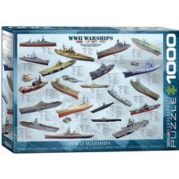 Eurographics WW 2 Warships 1000 Pieces
