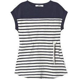 ebbe Kids Vita Tee Dress - Offwhite/Dark Navy