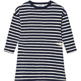 ebbe Kids Maddy Dress - Dark Navy/Pale Sand