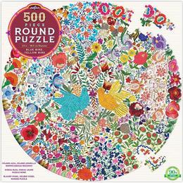 Eeboo Blue Bird Yellow Bird 500 Pieces
