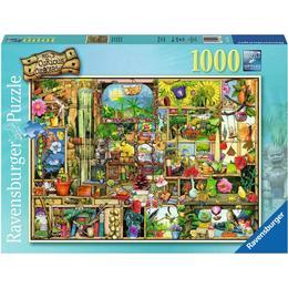 Ravensburger Grandiose Garden Shelf 1000 Pieces