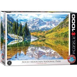 Eurographics Rocky Mountains Colorado 1000 Pieces
