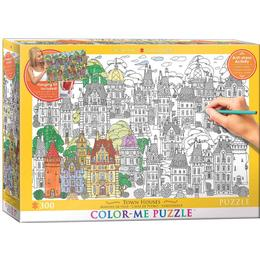 Eurographics Town Houses 300 Pieces
