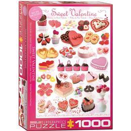 Eurographics Sweet Valentine 1000 Pieces