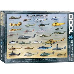 Eurographics Military Helicopters 1000 Pieces
