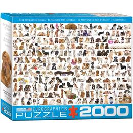 Eurographics The World of Dogs 2000 Pieces