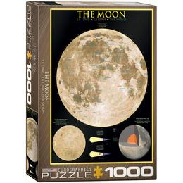 Eurographics The Moon 1000 Pieces