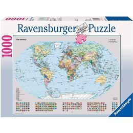 Ravensburger Political World Map 1000 Pieces