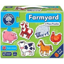 Orchard Toys Farmyard 6x2 Pieces