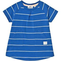 ebbe Kids Nizele A line Dress - Blue/White Stripe