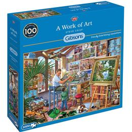 Gibsons A Work of Art 1000 PIeces