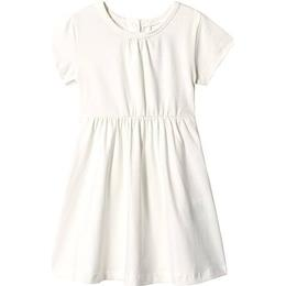 A Happy Brand Short Sleeve Dress - White (372554)