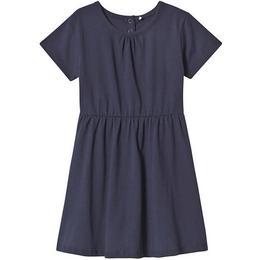 A Happy Brand Short Sleeve Dress - Navy (372558)