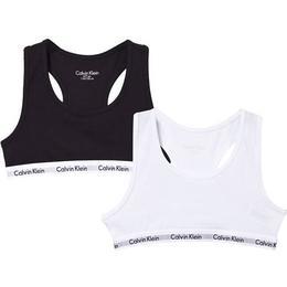 Calvin Klein Branded Bralettes 2-pack - Black/White