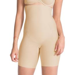 Spanx Thinstincts High-Waisted Mid-Thigh Short - Soft Nude