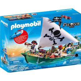 Playmobil Pirate Ship with Underwater Motor 70151