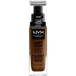 NYX Can't Stop Won't Stop Full Coverage Foundation CSWSF22.3 Walnut