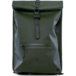 Rains Rolltop Backpack - Green
