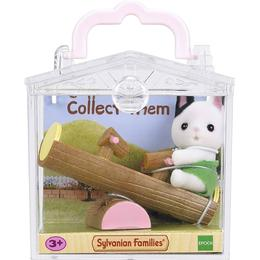 Sylvanian Families Baby Carry Case Cat on See Saw