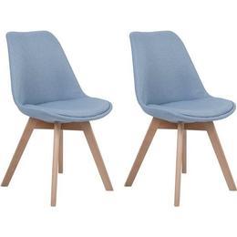 Beliani Dakota II 84cm 2-pack Kitchen Chair