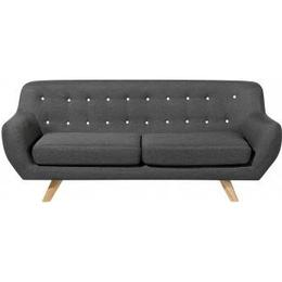Beliani Bodo 84cm Sofa 3 Seater