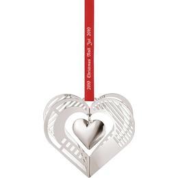 Georg Jensen Heart 2019 Christmas tree ornament
