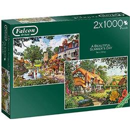 Falcon A Beautiful Summer's Day 2x1000 Pieces