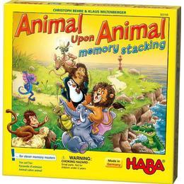 Haba Tier auf Tier: Stapelmemo