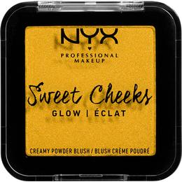 NYX Sweet Cheeks Creamy Powder Blush Glow Silence is Golden