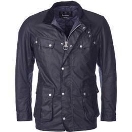 Barbour Duke Wax Jacket - Navy
