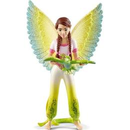 Schleich Movie Surah with Parrot Kuack 70584