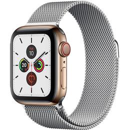 Apple Watch Series 5 Cellular 44mm Stainless Steel Case with Milanese Loop