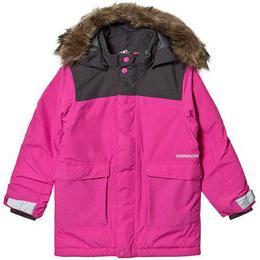 Didriksons Kure Kid's Parka - Plastic Pink (502679-322)