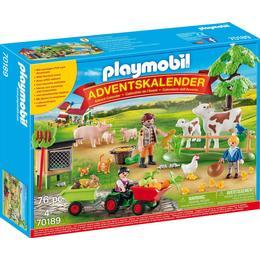 Playmobil Advent Calendar Farm 70189