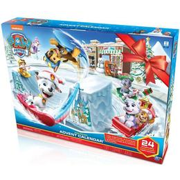 Spin Master Paw Patrol Advent Calendar with 24 Collectible Pieces 2019