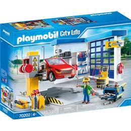 Playmobil City Life Car Repair Garage 70202