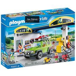 Playmobil City Life Gas Station 70201