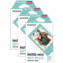 Fujifilm Instax Mini Film Sky Blue 3x10 pack