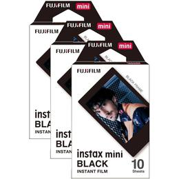 Fujifilm Instax Mini Film Black 3x10 pack