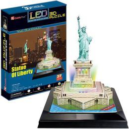 CubicFun LED Statue of Liberty 37 Pieces