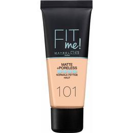 Maybelline Fit Me Matte + Poreless Foundation #101 True Ivory
