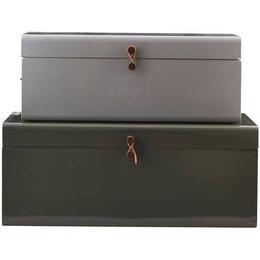 House Doctor Metal 60cm 2-pack Storage box