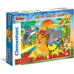 Clementoni Supercolor Maxi the Lion Guard 24 Pieces