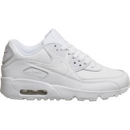 Nike Air Max 90 LTR GS - White/Metallic Silver/White/White