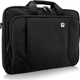 """V7 Professional Frontloading Laptop Case 17.3"""" - Black"""