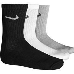 Nike Value Cotton Crew Training Socks 3-pack Men - Grey/White/Black