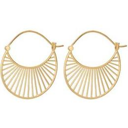 Pernille Corydon Daylight Large Earrings - Gold