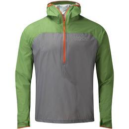 OMM Halo Smock Running Jacket Men - Grey/Green