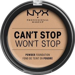 NYX Can't Stop Won't Stop Powder Foundation Natural